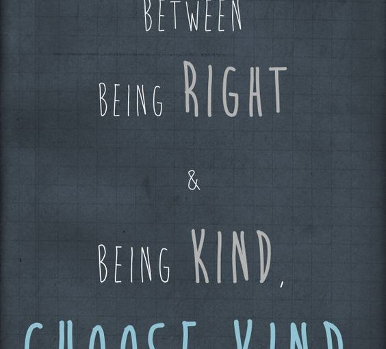 Choose Kind – Kelly